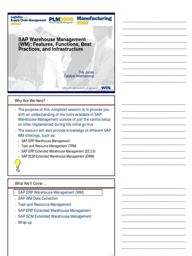 medium resolution of sap warehouse management wm introduction 26125078 warehouse web application