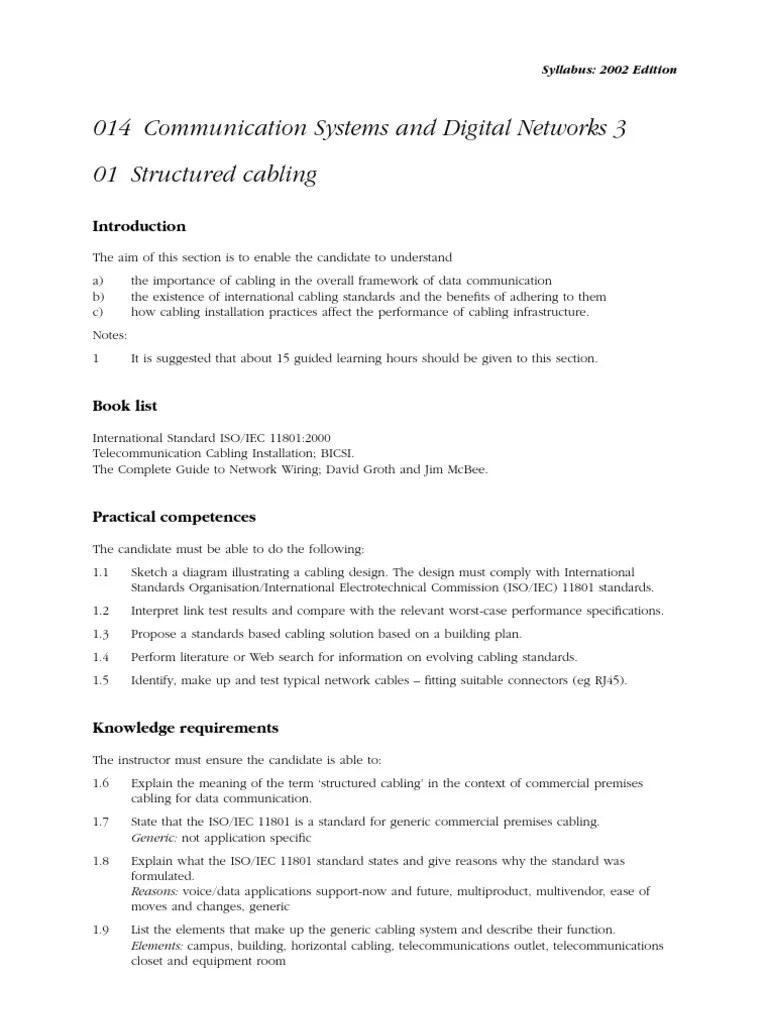 communication system and digital network 2 city and guilds syllabus t3 local area network voice over ip [ 768 x 1024 Pixel ]