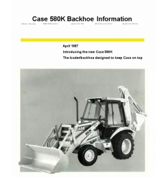 maintenance schematics features wiring harness content maintenance parts pts operators 580c contains pages helpful technical information  [ 768 x 1024 Pixel ]