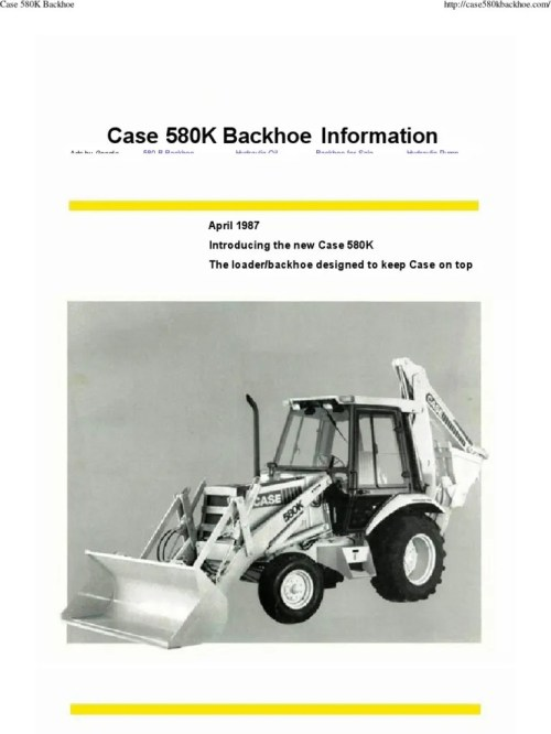 small resolution of maintenance schematics features wiring harness content maintenance parts pts operators 580c contains pages helpful technical information