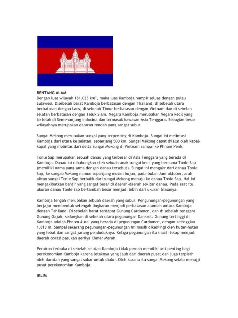 Bentang Alam Kamboja : bentang, kamboja, BENTANG