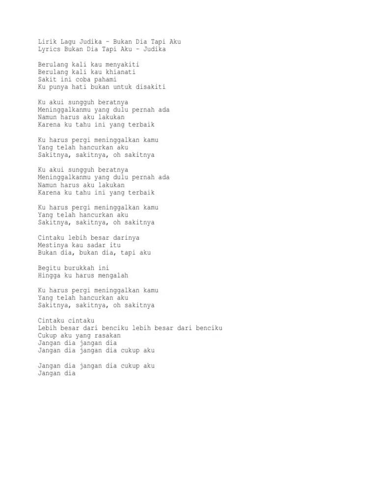 Download Lagu Bukan Dia Tapi Aku Judika : download, bukan, judika, Bukan