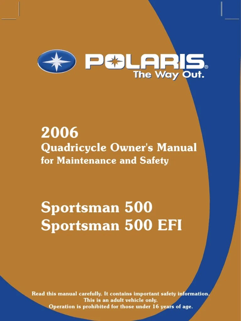 small resolution of 2006 polaris sportsman owners manual intl four wheel drive manual transmission