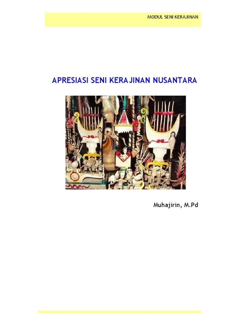 Jenis Jenis Kerajinan Nusantara : jenis, kerajinan, nusantara, Kerajinan, Nusantara