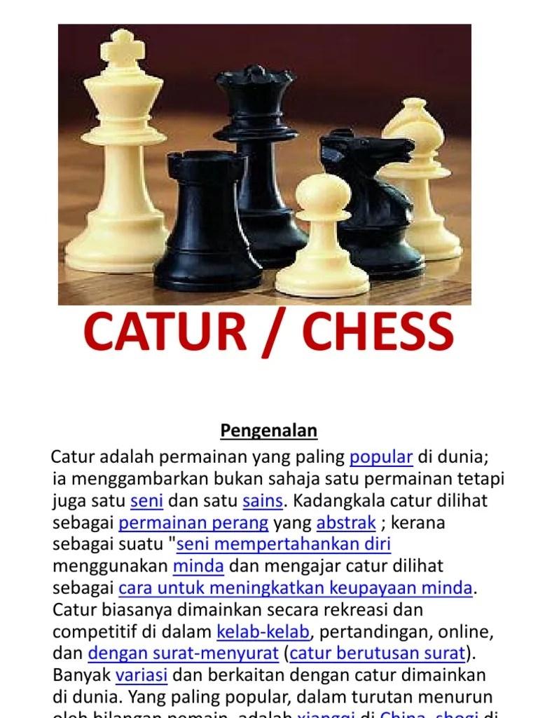 Sejarah Catur : sejarah, catur, SEJARAH, CATUR