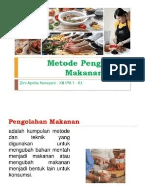 Metode Pengolahan Makanan : metode, pengolahan, makanan, Metode, Pengolahan, Makanan, Asing
