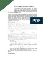Keberadaan jawaban persamaan maxwell telah ditentukan dengan metode langsung kalkulus variasi dalam wakilan forma diferensial. Kalkulus Variasi Dan Kontrol Optimal Pdf