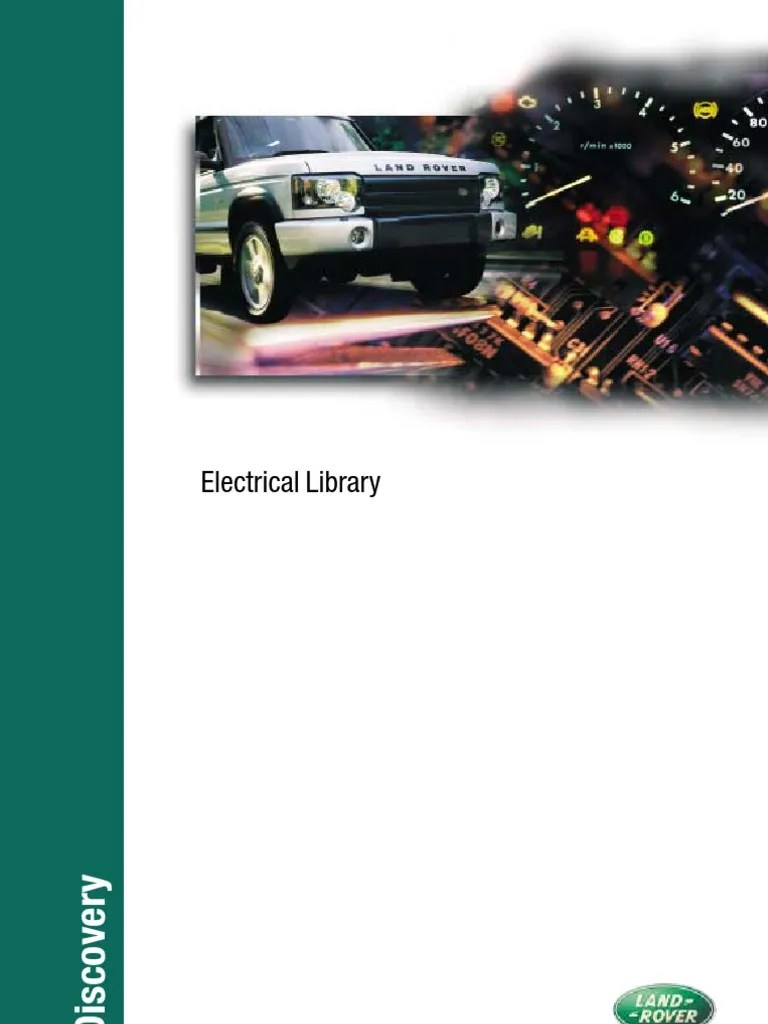 discovery ii electrical library electrical connector battery electricity  [ 768 x 1024 Pixel ]