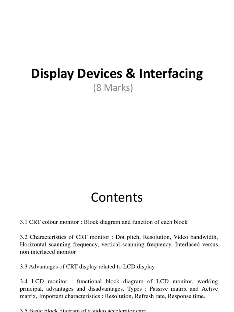 medium resolution of diagram how a lcd monitor work