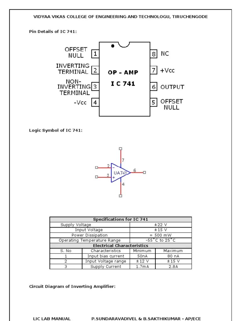 hight resolution of 741 op amp circuit diagram