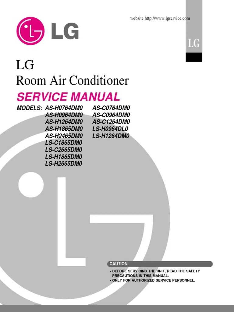 lg split type air conditioner complete service manual air conditioning hvac [ 768 x 1024 Pixel ]