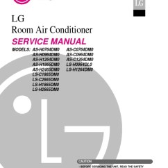 Air Conditioner Wiring Diagram Troubleshooting Radio 2006 Ford Ranger Lg Split Type Complete Service Manual Conditioning Hvac