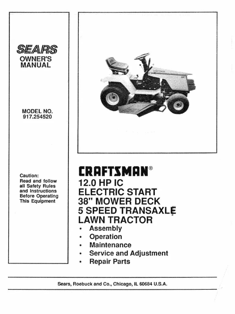 Craftsman Electric 3 In 1 Lawn Mower Electrical Schematics Model 900370510 Related With
