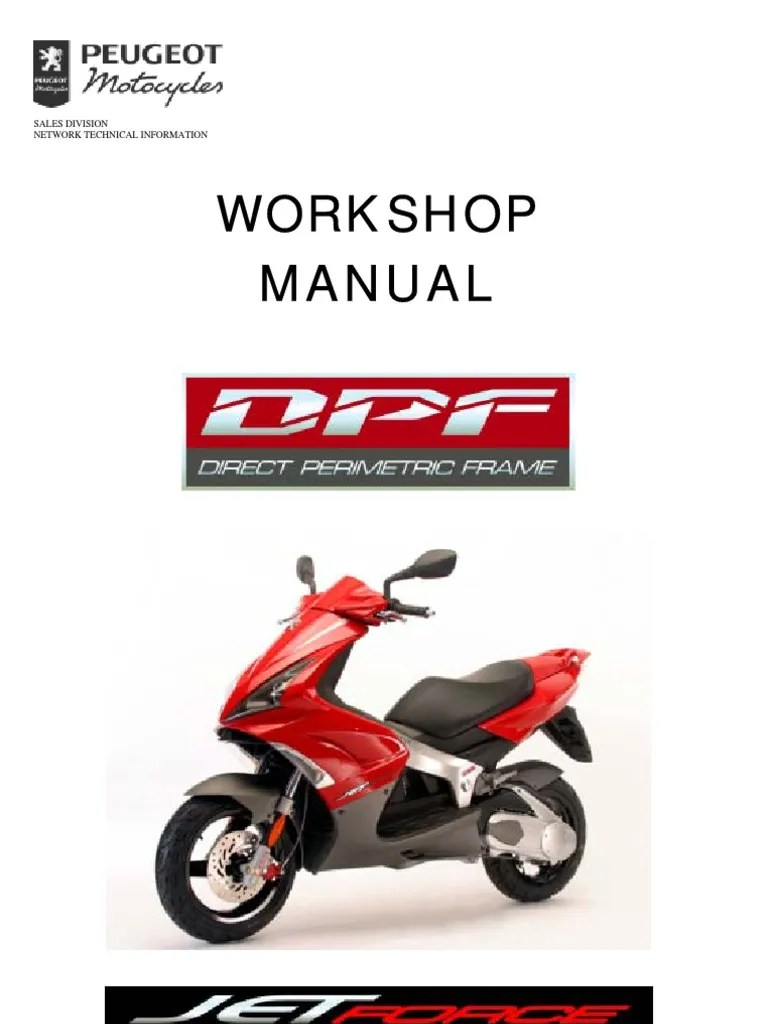 hight resolution of peugeot jetforce 50 125 workshop service repair manual throttle fuel injection