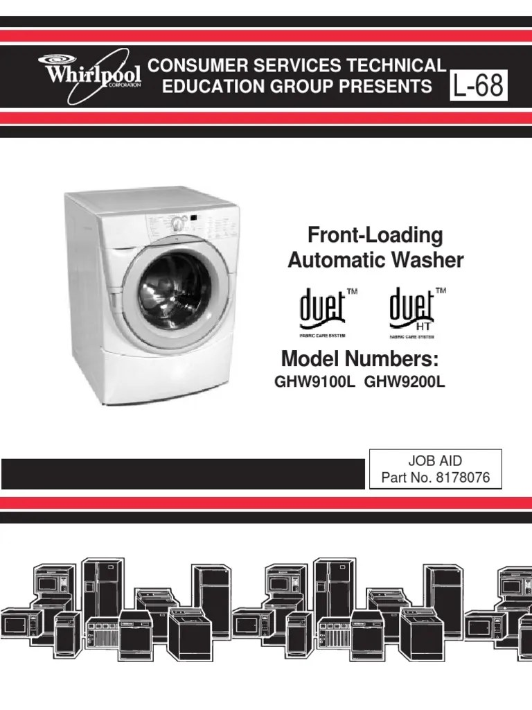 small resolution of whirlpool duet washer service manual washing machine ac power plugs and sockets