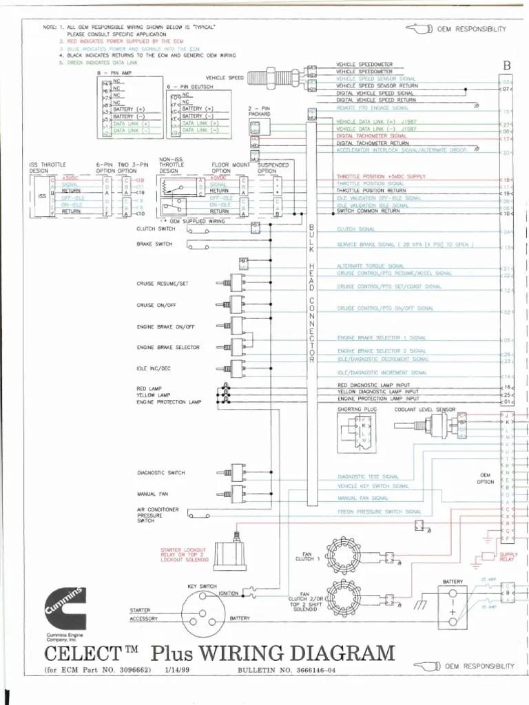 medium resolution of 1512760999 v 1 wiring diagrams l10 m11 n14 fuel injection throttle 1996 freightliner fld120