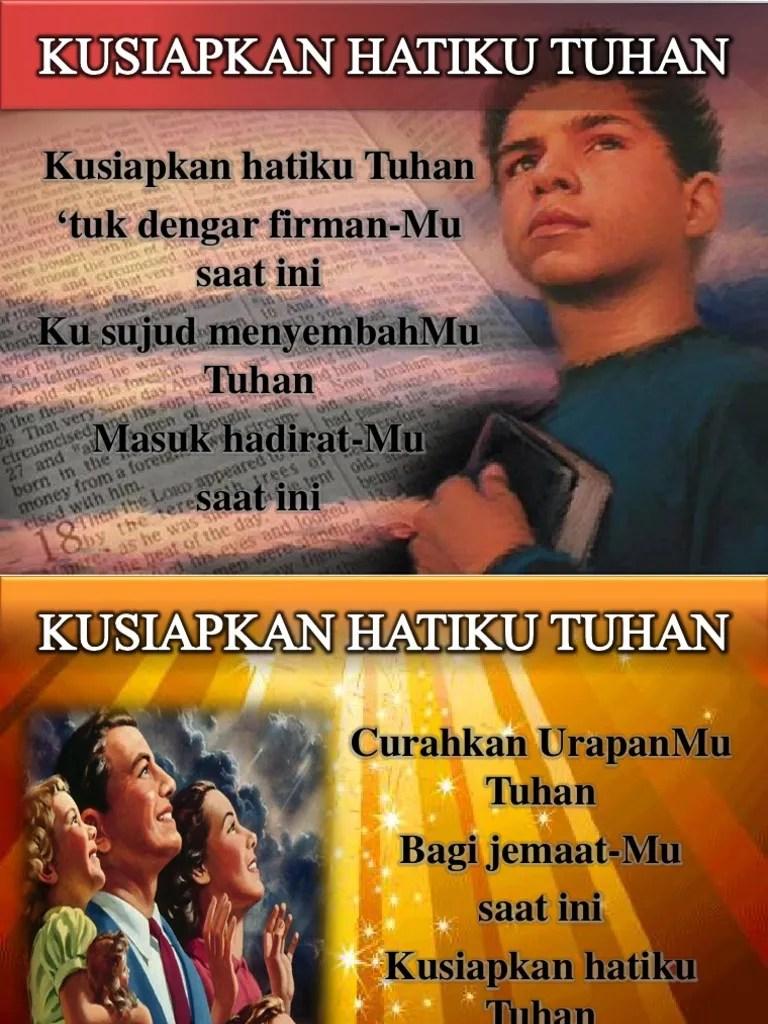 Lirik & Chord Lagu Kusiapkan Hatiku Tuhan - Nikita | Kidung.com