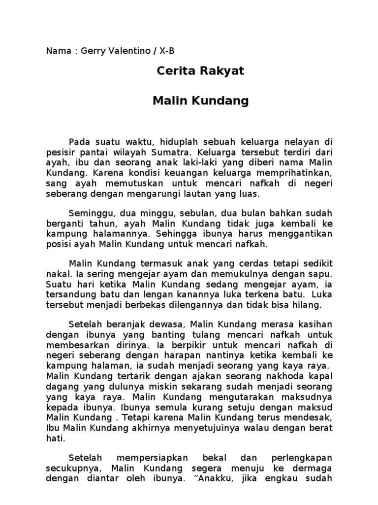 Cerita Malin Kundang Singkat : cerita, malin, kundang, singkat, Cerita, Rakyat, Malin, Kundang, Singkat, Python