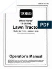Toro wheelhorse Demystification Electical wiring diagrams