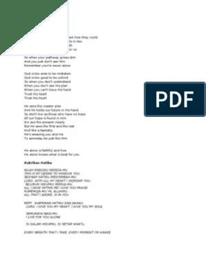 Syukur Kub'rikan Syukur (Wawan Yap) Chords, Lyrics & Lirik