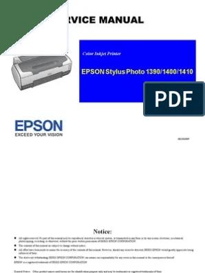 Cara Mengatasi Printer Epson L210 : mengatasi, printer, epson, Motor, Drive, Error, Epson