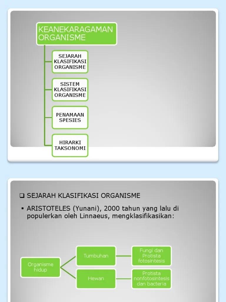 Sistem Klasifikasi Makhluk Hidup - Biosman8pku