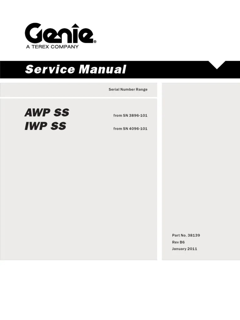 small resolution of awp 25 genie lift wiring diagram
