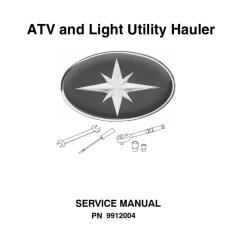 Polaris Sportsman 90 Wiring Diagram Pid Temperature Controller Atv Service Manual Repair 1985 1995 All Models Transmission Mechanics Suspension Vehicle