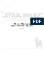 Star Wars RPG: Saga Edition Custom Character Sheet