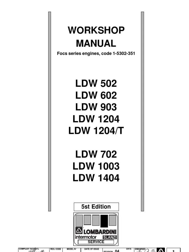 [Manual] Lombardini