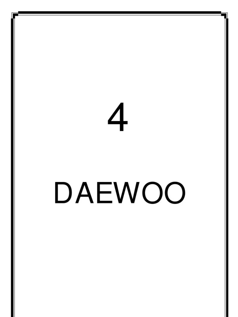 medium resolution of daewoo manual electrical connector electrical engineering rh es scribd com