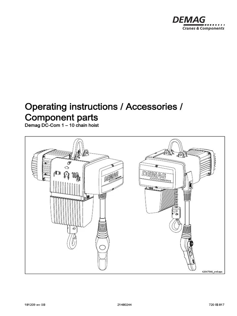 medium resolution of demag drc dc wiring diagram