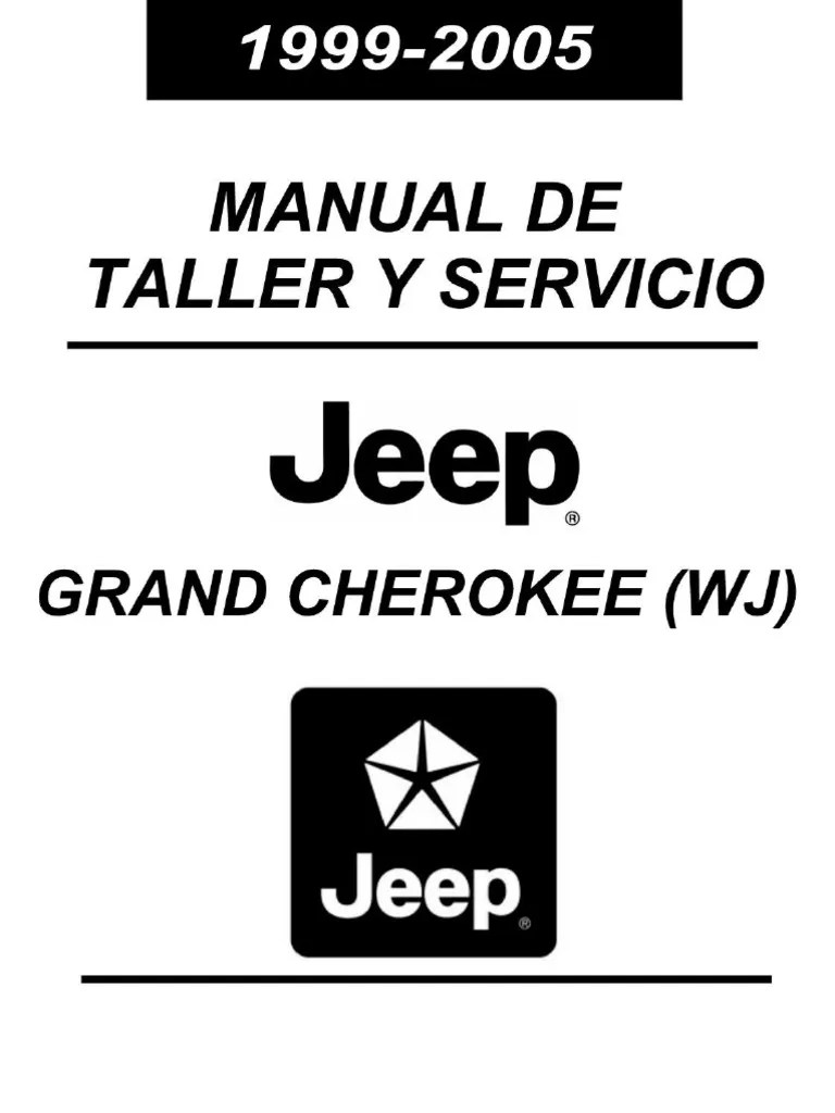 Manual Reparacion Jeep Grand Cherokee 99-05