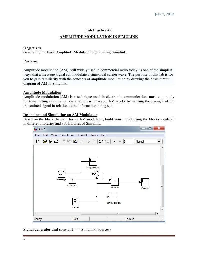 hight resolution of amplitude modulation circuit diagram