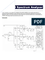 audio spectrum analyzer circuit diagram 3 phase immersion heater wiring desgin project electronic channel