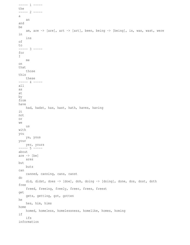 medium resolution of Kevin wordlist 2+2g freq   Advertising   Cheque