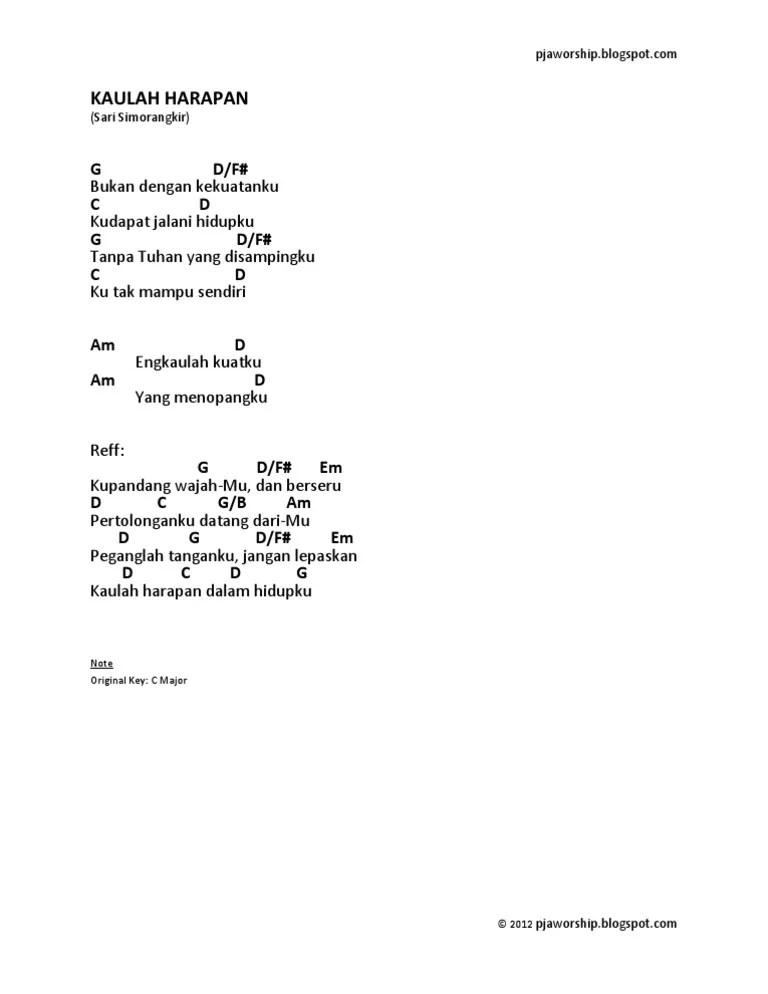 Kaulah Harapan — Songs — Unlimited Worship