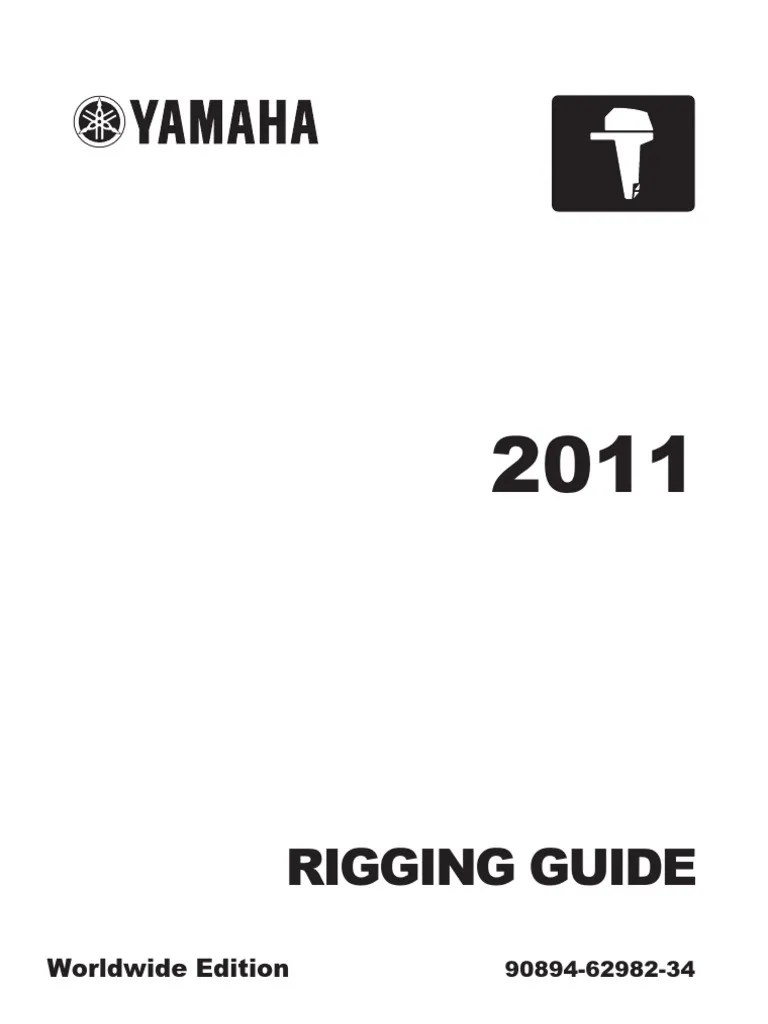 hight resolution of rigging guide yamaha outboard motors 2011 machines vehicle technology