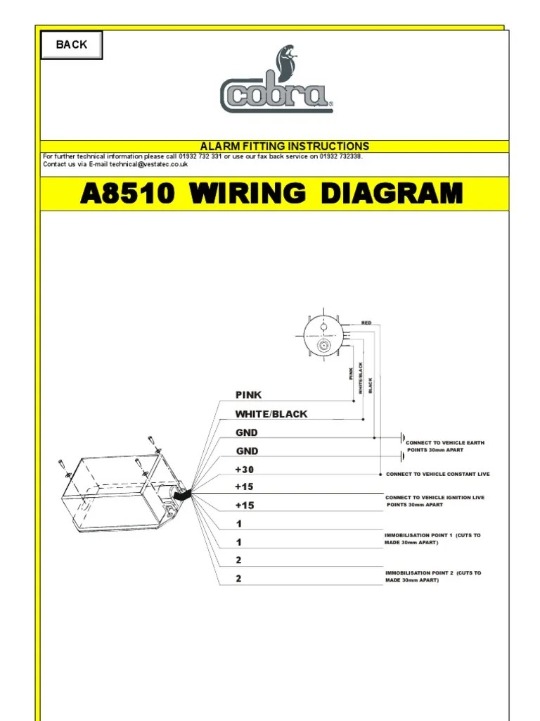 Alarm Wiring Diagram Cobra Car Alarm Wiring Diagram Cobra Alarm