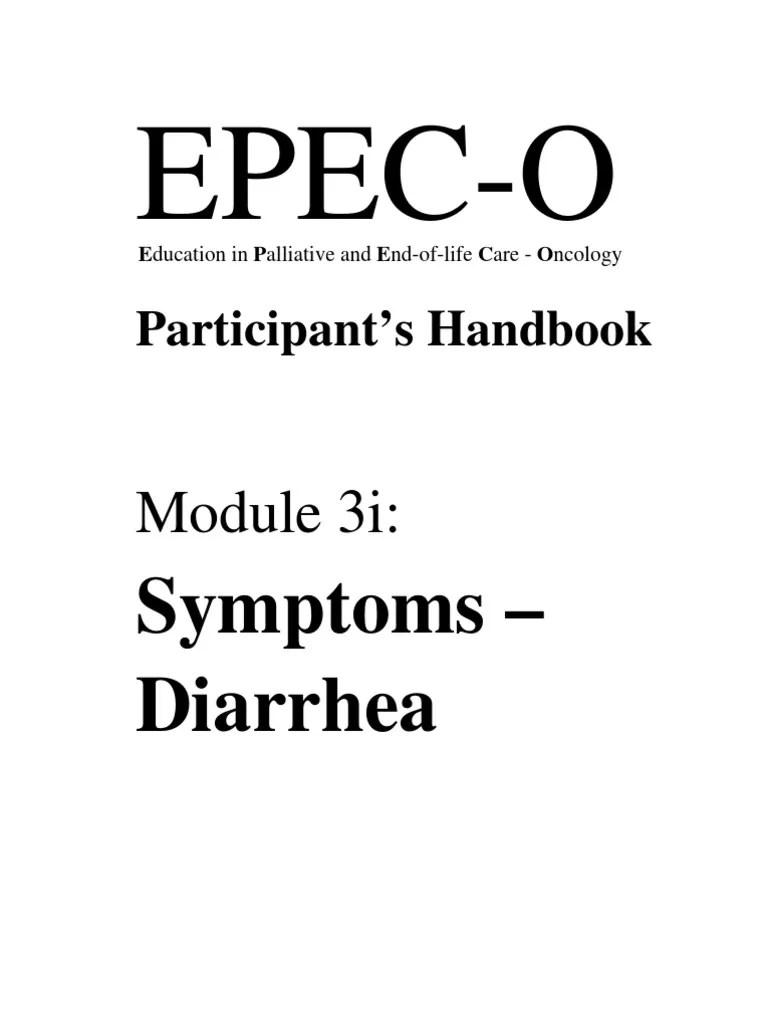 Epec-o m03i Diarrhea Ph | Diarrhea | Human Feces
