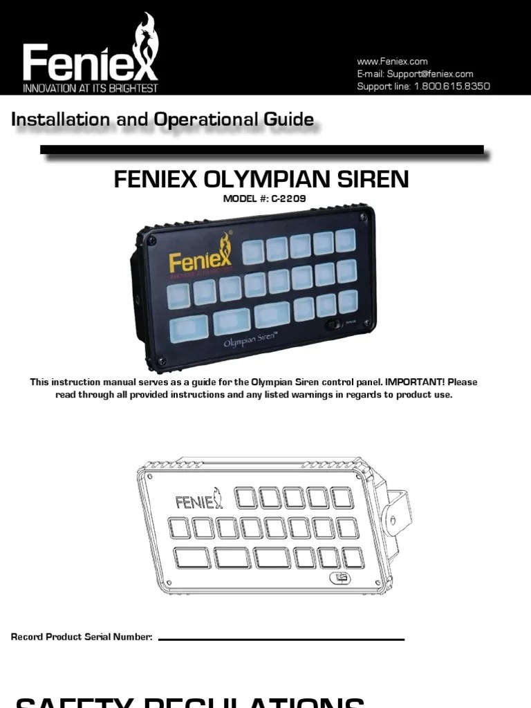 medium resolution of feniex light wiring diagram