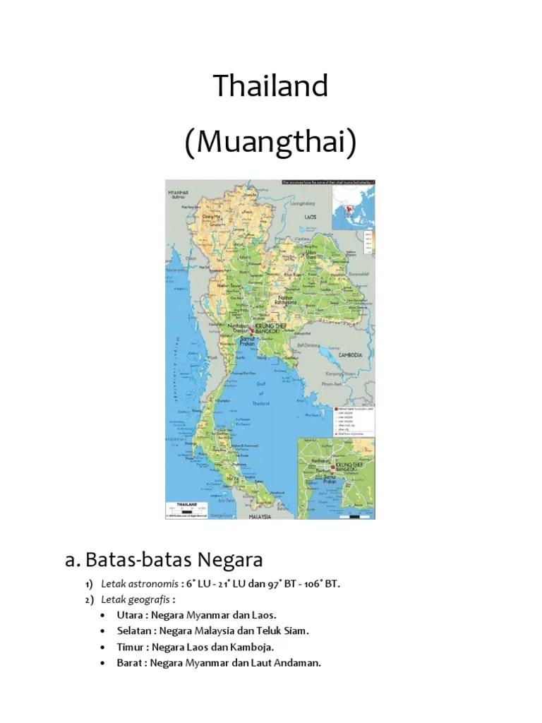 Letak Astronomis Thailand : letak, astronomis, thailand, Thailand