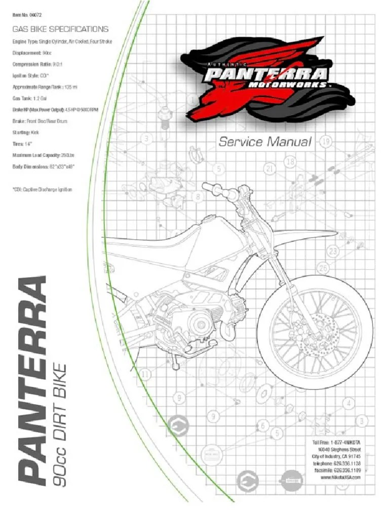 90cc pit bike wiring diagram 2003 ford f150 ac chinese dirt great installation of panterra atv 32 49cc pocket system cdi for
