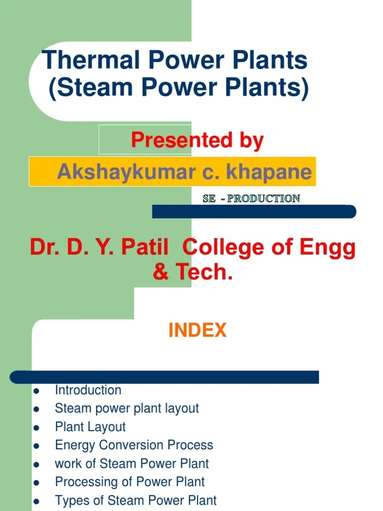 hight resolution of thermal power plant diagram