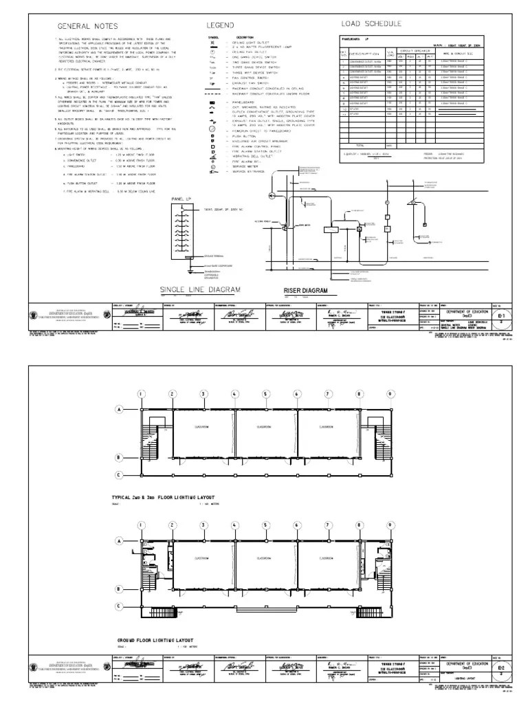 residential electrical plan note [ 768 x 1024 Pixel ]