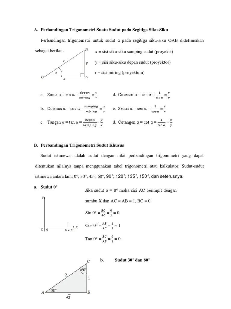 Contoh Soal Perbandingan Trigonometri Pada Segitiga Siku-siku : contoh, perbandingan, trigonometri, segitiga, siku-siku, Perbandingan, Trigonometri, Suatu, Sudut, Segitiga, Siku.html