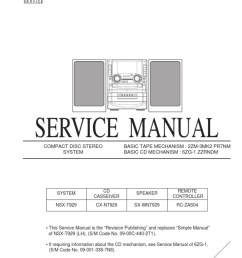 it s possible examine each page owner s record troubleshooting help repair advice all video schema cdc r504mp cdc x504mp by using select language  [ 768 x 1024 Pixel ]