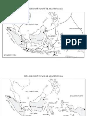 Peta Buta Asia Tenggara : tenggara, Serangan, Jepang, Tenggara