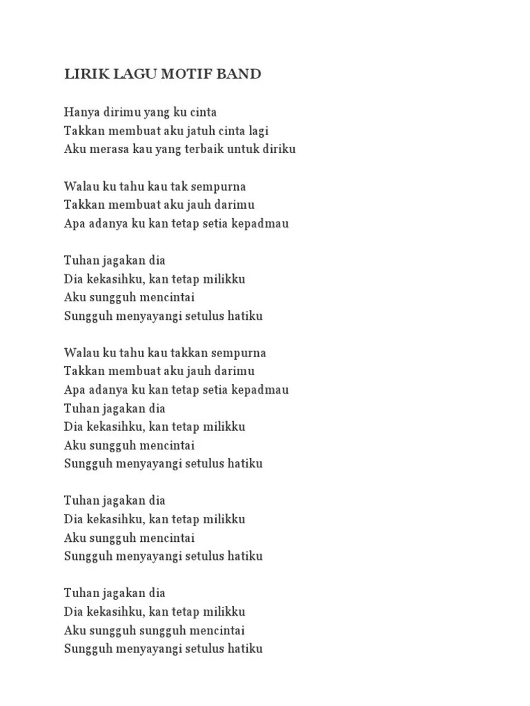 Lirik Lagu Tuhan Jagakan Dia : lirik, tuhan, jagakan, Lirik, Milikku