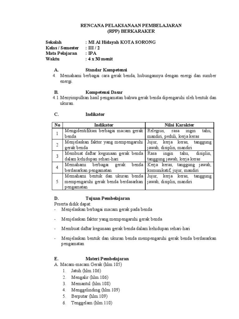 Download RPP dan Silabus Pendidikan Agama Islam (PAI) Kelas I, II...